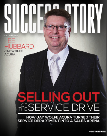 Jay Wolfe Acura >> Success Story: Selling Out of the Service Drive ...
